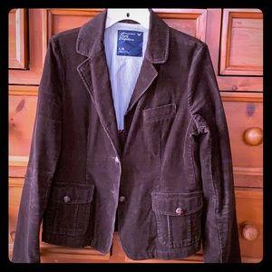 American Eagle brown corduroy blazer, sz L
